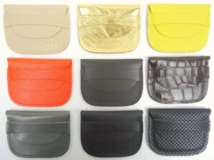 B18 leather purses
