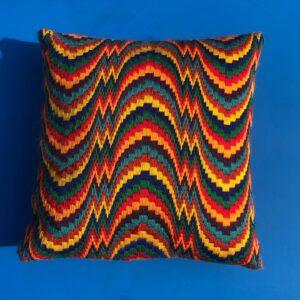 Bargello stitching - Tina Francis Tapestry