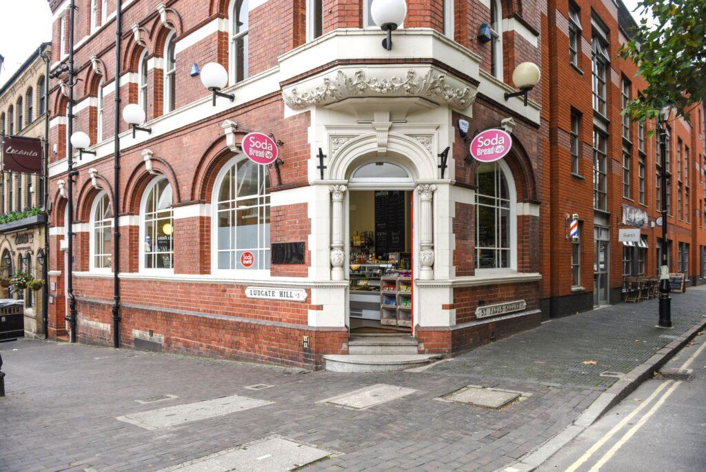 Soda Bread Cafe, St Paul's Square, Jewellery Quarter