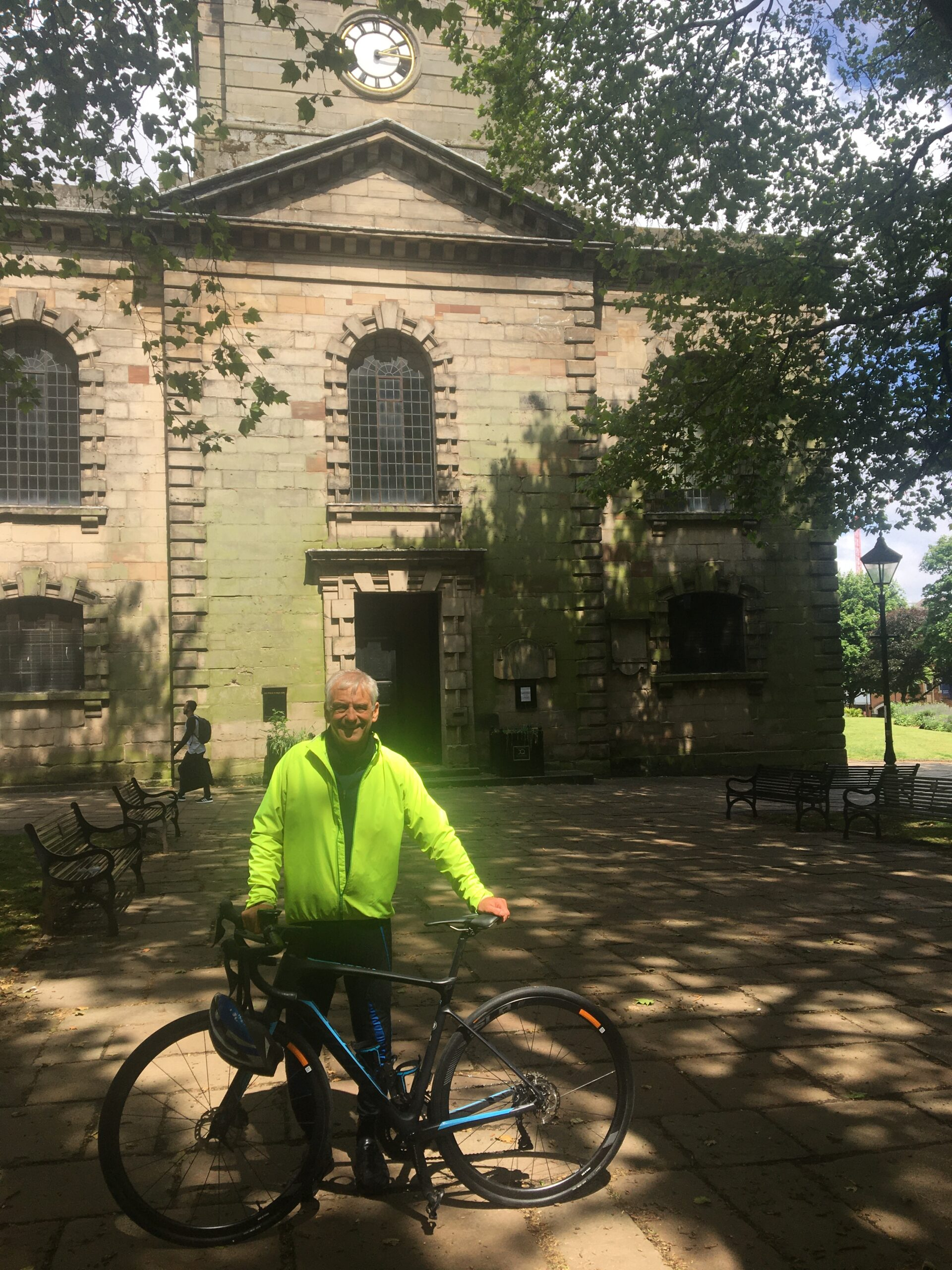 The Rev'd David Tomlinson, Vicar of St Paul's in the JQ