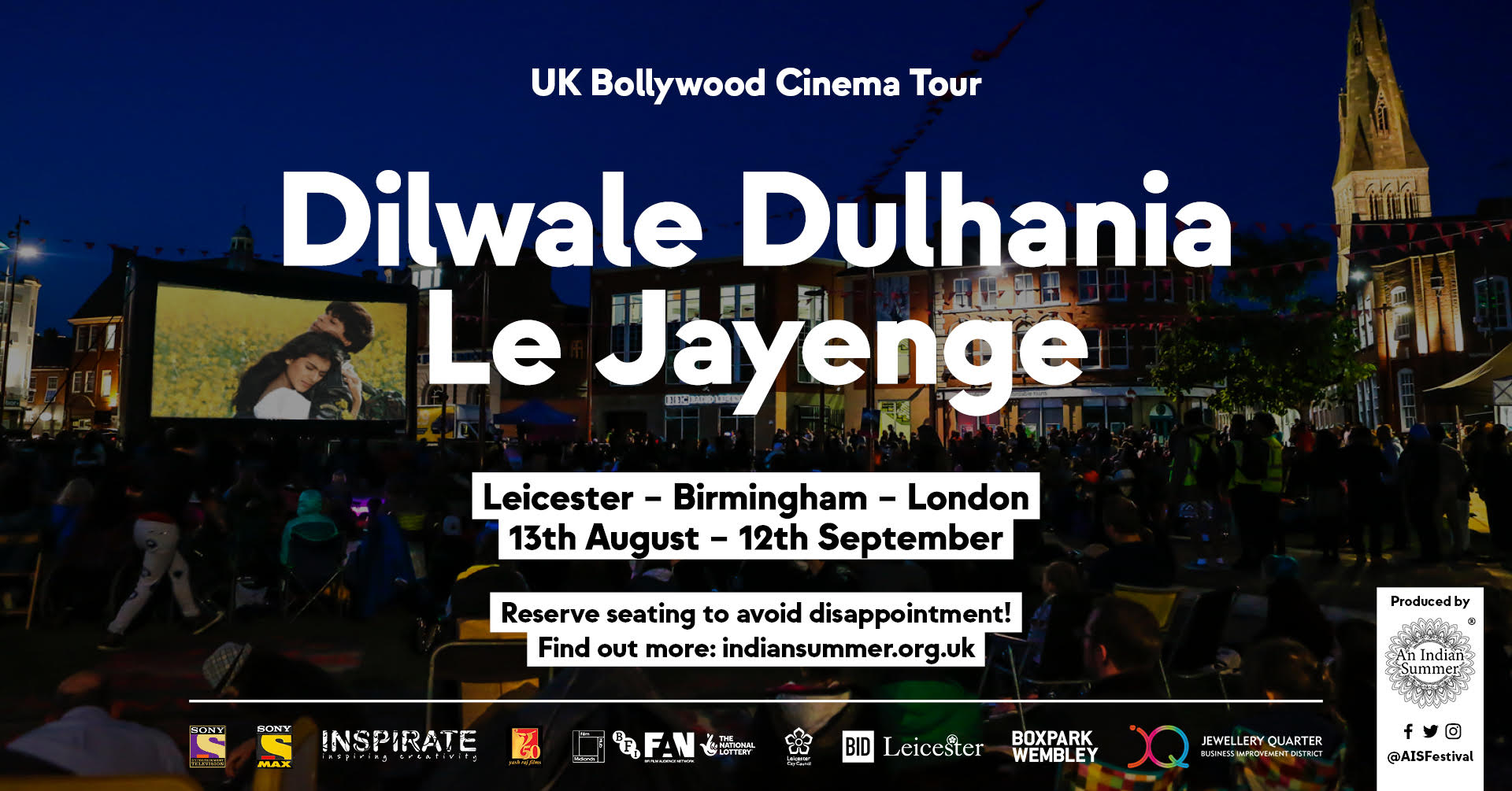 UK Bollywood Cinema Tour is coming to the Jewellery Quarter