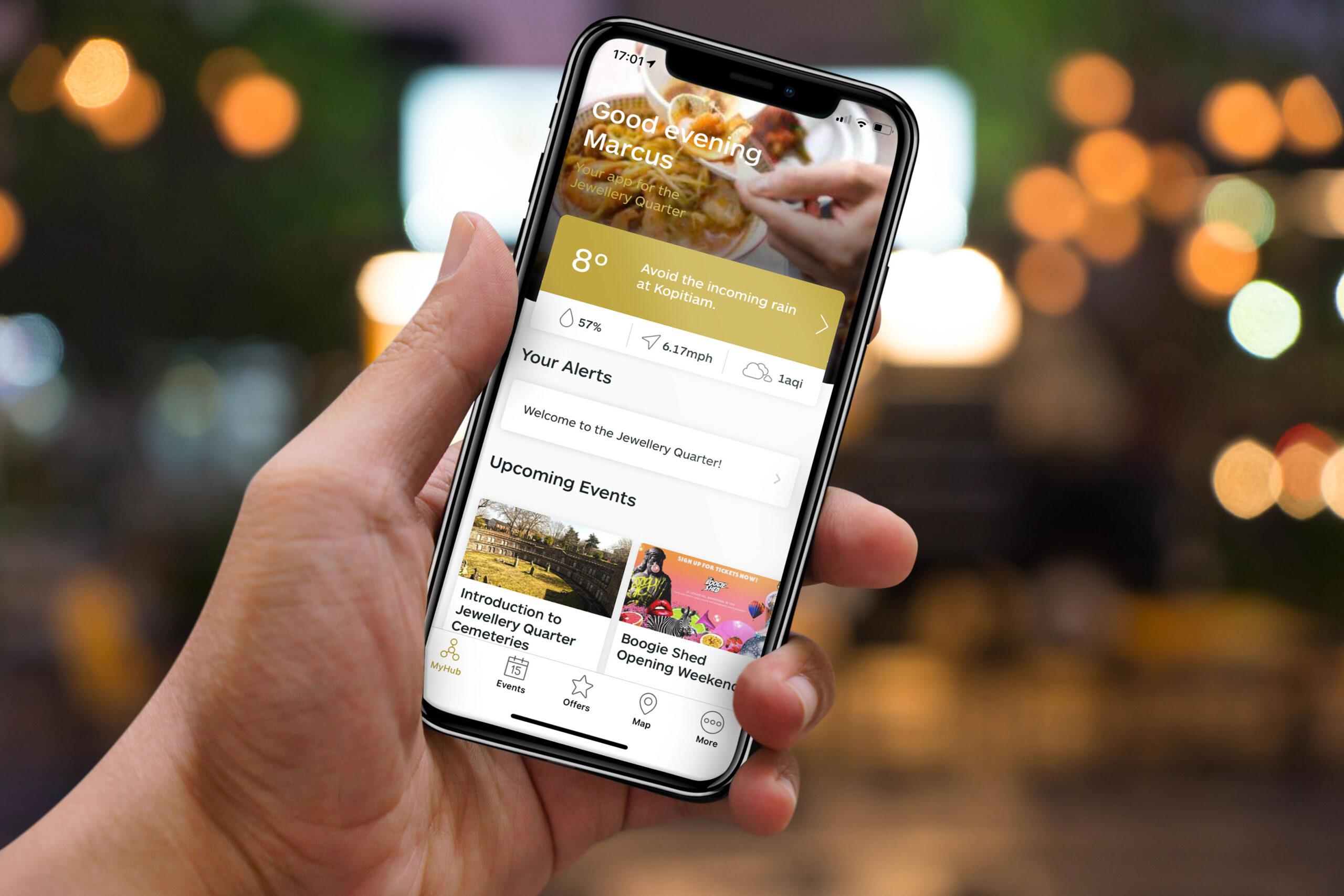 DiscoverJQ app developed by JQBID