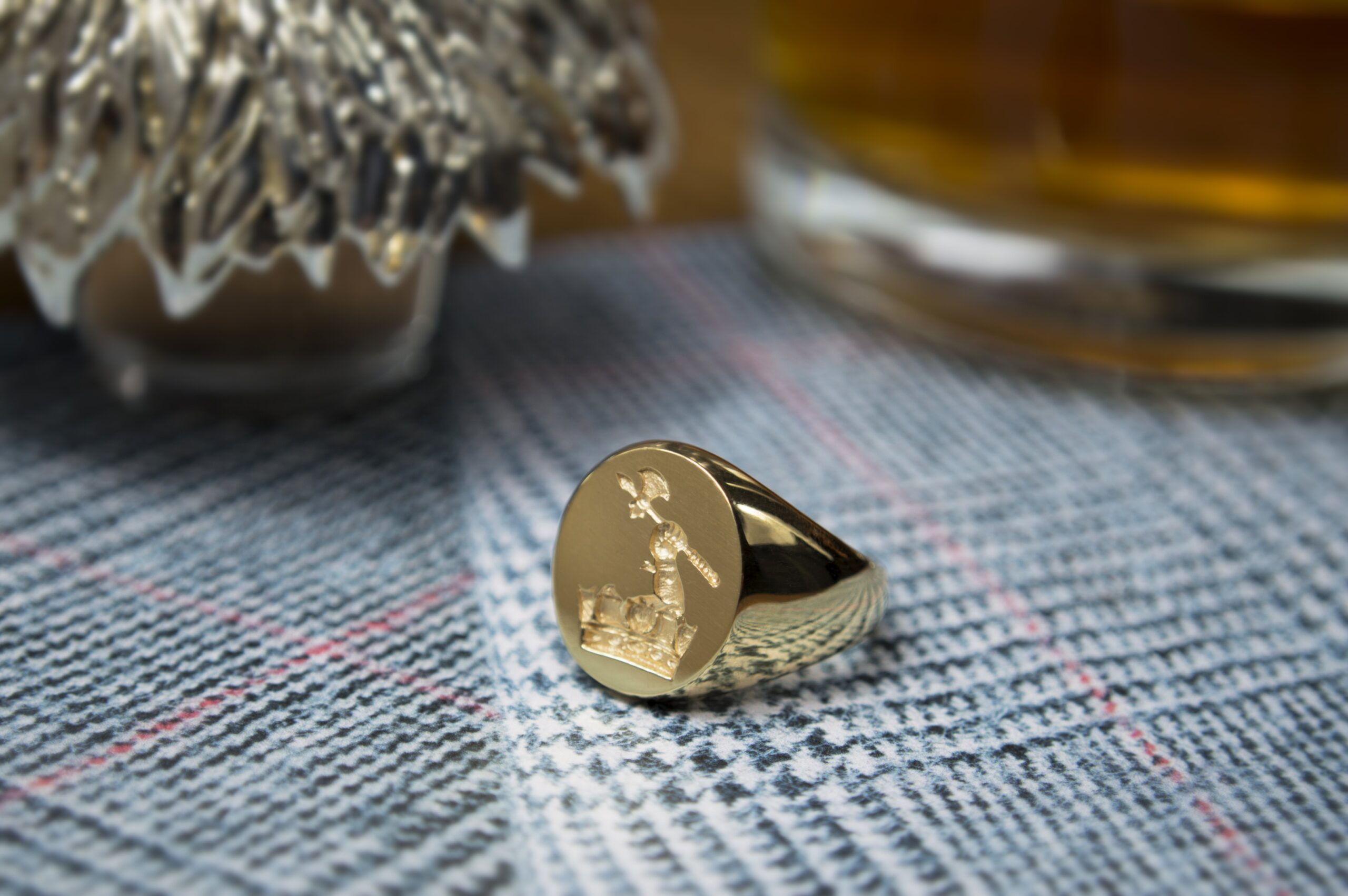 Deakin & Francis will use SMO certified gold to craft all of the signet rings it manufactures.