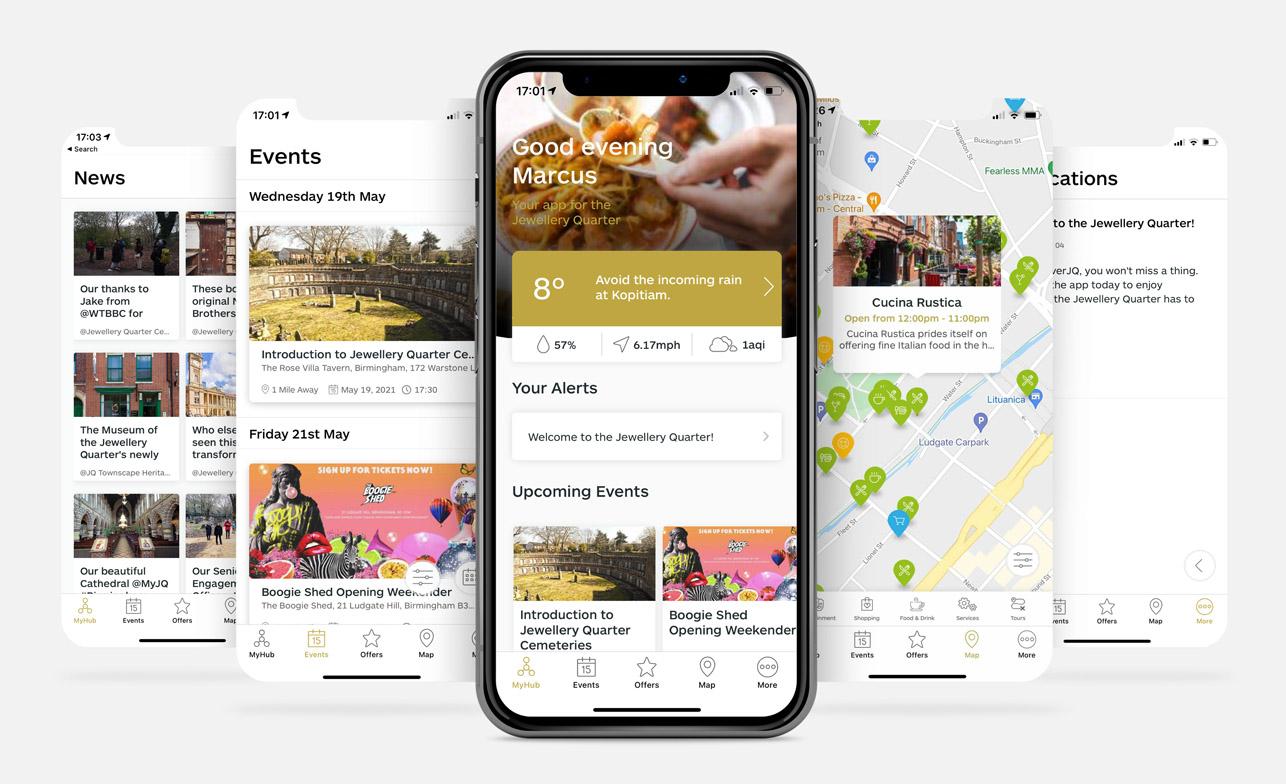 Jewellery Quarter App - Community Hub