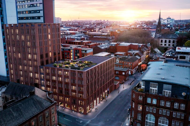 Setl - the new development set for Ludgate Hill in the Jewellery Quarter